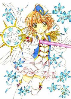Sakura Kinomoto, Syaoran, Sailor Moon Birthday, Anime Manga, Anime Art, Vocaloid, Card Captor, Anime Cosplay Costumes, Clear Card
