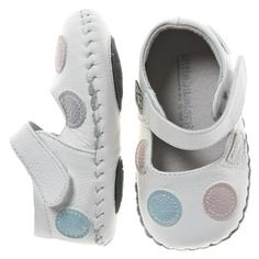 Soft Soled Girls Leather Shoes - Little Blue Lamb W13 : Baby Shoes