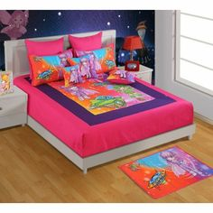 Spread lively bed sheets to maintain the chirpiness of your kid's room