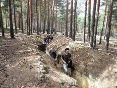 """La excursión """"Paisajes de guerra"""" mostrará los restos de construcciones de la Guerra Civil en el entorno de Valsaín (Segovia)"""