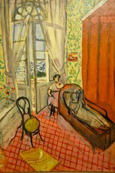 Henri Matisse - Femmes au canape ou Le Divan, 1921 at Musée de l'Orangerie Paris France   by mbell1975