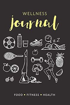 Want to track your health, wellbeing and exercise? This Food Fitness And Health Tracker Wellness Journal has 12 weeks of goal setting and wellness tracking for a happy, healthy you! Click through to shop this gorgeous health notebook packed with wellness tracking and dot grid pages. #healthjournal #wellnessjournal #dotgrid #dotted #habittracker #wellnesstracker #exercisetracker #foodtracker #foodjournal #waterintake #bulletjournal #journal #notebook #fitnessjournal
