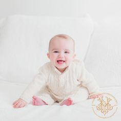 Creams and whites make for wonderful choices for wardrobe keeping the focus on the subject in a pure and timeless way  http://www.yvonneniemannphotography.com/home-is-where-the-heart-is-athens-ga-baby-photography/