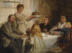 """""""Christmas Dole""""- A Painting by Joseph Clark"""
