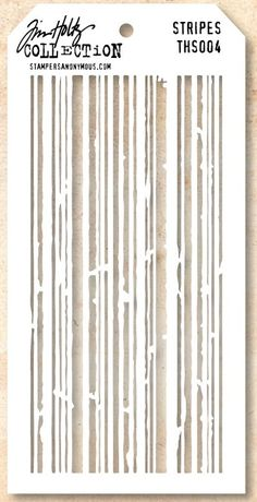 Stamper's Anonymous / Tim Holtz - Layering Stencil - Stripes