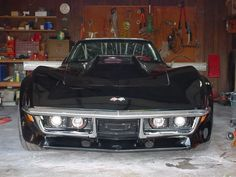 non popup headlights 1969 Corvette, Old Corvette, Corvette Summer, Stingray Chevy, Chevrolet Corvette Stingray, Sexy Cars, Hot Cars, 70s Muscle Cars, Old Classic Cars