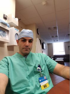 Doctor Eric Yahav offers his patients gynecological cancer screenings.