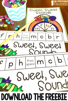 You and your students are going to love these Halloween for Kindergarten FREE downloads! Use these FREEBIES in your classroom OR homeschool for great fun all October long! Work on cooperation and team building skills while you practice math and literacy skills. Your students will practice counting and letter sounds or beginning sounds. These make great math centers or literacy centers. Click through to grab yours today! {preK, Kinder fun, engaged learning}