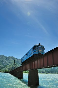 Yuragawa Railway Bridge, Kyoto, Japan