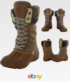 439868d80792 Pajar Garland Women s Faux Fur Trim Snow Boots Waterproof