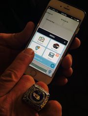 Waze app adds the voice of Arnold Schwarzenegger as the Terminator - http://www.usatoday.com/story/tech/2015/06/14/arnold-schwarzenegger-waze-terminator-voice-app-terminator-genisys/71124570/