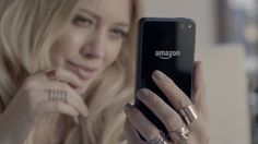 Amazon Fire mobile phone used by Hilary Duff in ALL ABOUT YOU by Hilary Duff (2014) @amazon