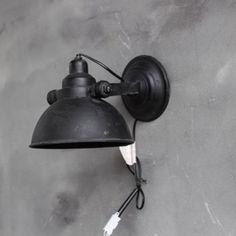 Industrial Living, Modern Industrial, Sober, Home Lighting, Sweet Home, Wall Lights, Interior, Design, Home Decor