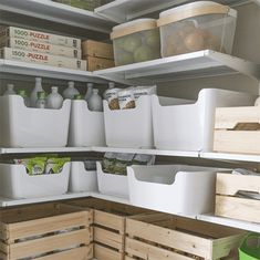 Pantry Organisation, Ikea Organization, Organizing, Move In Cleaning, Pantry Design, Basement Storage, First Apartment, Storage Spaces, Storage Ideas
