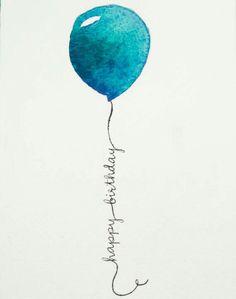 happy birthday - balloon