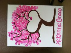Guest Book for Baby Shower with thumbprints (you sign your thumbprint). TIP: Use washable ink pad!!