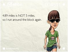 RUNNING WITH OLLIE: Runners Math? It May Not be Logical, But it Works For Me.