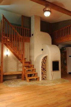 masonry stove top design - Google Search