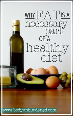 But fat plays so many important roles in the body, and is a necessary part of a healthy diet. Learn more and about which healthy fats you should be including in your diet. Health and nutrition.