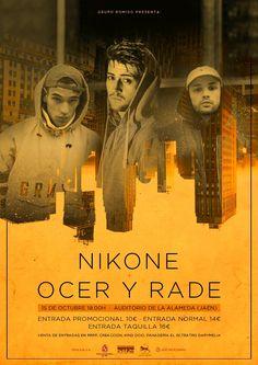 Nikone   Ocer y Rade, el concierto de referencia en el mundo del rap en…