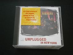 Nirvana CD-Packet, Nevermind, Unplugged ... (6 Live- u. Studioalben aus den USA)