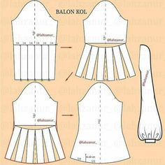 Dress With Sleeves Pattern Sewing Tutorials Dress Sewing Patterns, Clothing Patterns, Pattern Sewing, Pattern Drafting, Diy Clothing, Sewing Clothes, Sleeves Designs For Dresses, Dresses With Sleeves, Fashion Sewing