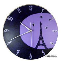 HORLOGE TOUR EIFFEL AU CLAIR DE LUNE - Boutique www.magicreation.fr