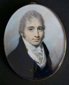 A distinguished looking Gentleman by George Engleheart circa 1800
