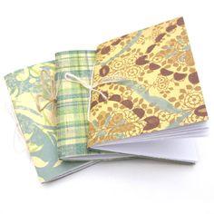 DIY: refillable pocket notebook