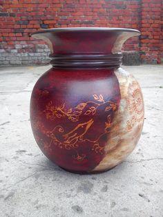Ręcznie malowany dzban hand-painted.