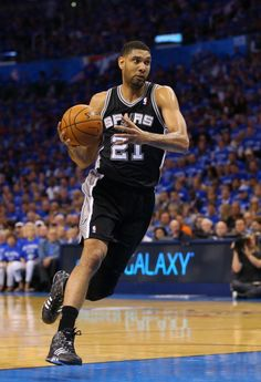 Tim Duncan of the San Antonio Spurs 'The Big Fundamental!!!
