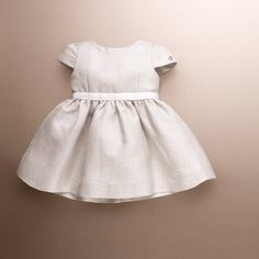 Gucci white and gold jacquard belted dress