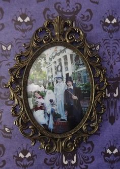 Disney Parks Haunted Mansion Frame 8 X 10 3995 Picclick