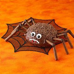 Chocolate Spider Cake