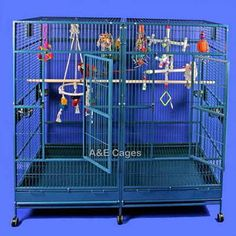 A and E Cage Co. Enormous Double Bird Cage