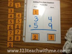 1..2..3.. Teach With Me: Math -- Double Digit Addition with regrouping
