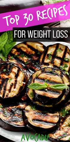These top 30 recipes for weight loss will help you make quick and healthy meals during the week that will also help you lose weight fast! http://avocadu.com/top-weight-loss-recipes/