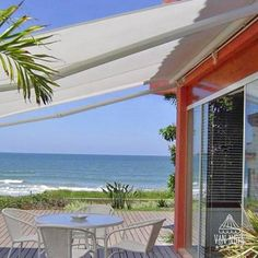 We're very excited to announce that we have partnered with Stobag to provide you a new level of comfort and functionality. Who wouldn't want to spend more time outdoors with one of these? Van Nuys, Retractable Awning, Outdoor Living, Outdoor Decor, Cabana, Canopy, Sailing, Patio Awnings, Shades