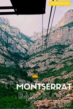 Day Trip to Montserrat from Barcelona, Spain!