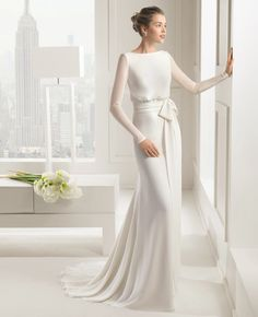Make it shorter, maybe in different color and can be an everyday dress instead of a wedding gown.