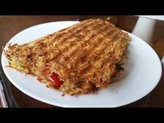 Shredded Hash Brown Omelette - Potato Strong