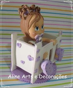 Christmas Decorations, Christmas Ornaments, Holiday Decor, Toy Chest, Storage Chest, Baby Shower, Sculpey Ideas, Bb, Handmade