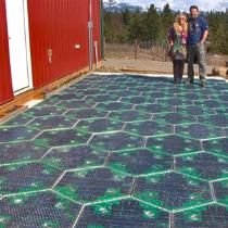 Back when the concept of global warming was still nascent—only eight years ago, mind you—Scott and Julie Brusaw of Sagle, Idaho, began heavily contemplating an idea that Scott, an electrical engineer, had toyed with as a child: solar panel roads.