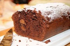Banana and chocolate loaf - Healthy chocolate week recipes Banana And Chocolate Loaf, Chocolate Week, Best Chocolate Cake, Healthy Chocolate, Homemade Chocolate, Chocolate Peanut Butter, Chocolate Recipes, Banana Bread, Chocolate Chips
