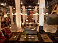 Ace Hotel NY copyright Eric Laignel as published in Rough Luxe Design for The Curated Collection