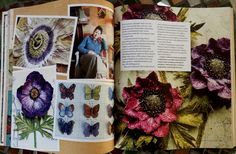 Corinne Young Textiles article in Pretty Nostalgic Society Compendium No 1 - pages 5 & 6