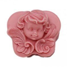 Molde para hacer jabón pastilla Carita de Angel