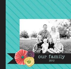 Family Yearbook: Bright Squares TEMPLATE: 103045 By Michelle Bell 12 x 12 Storybook   28 extra pages Make the most of a year's worth of memories with this stylish yearbook. Gather your favorite photos, candid moments and cherished memories into this book and create an instant classic that will be enjoyed for years to come!
