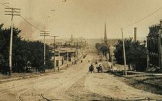 Main Street Hill - 1890