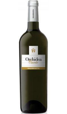 Inurrieta Orchidea Cuvée 2012 - Navarra - D.O. Navarra Alcoholic Drinks, Beverages, Bacchus, Sauvignon Blanc, Bottle Labels, Label Design, Whiskey Bottle, Red Wine, Cool Designs